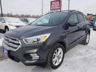 Used 2017 Ford Escape SE LEATHER !!  BLUE TOOTH !!  REAR CAMERA !! for sale in Cambridge, ON