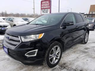 Used 2018 Ford Edge Titanium AWD !!  HEATED LEATHER !!  BLUE TOOTH !! for sale in Cambridge, ON