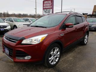 Used 2016 Ford Escape Titanium SUNROOF !!  HEATED LEATHER !!  NAVIGATION !! for sale in Cambridge, ON