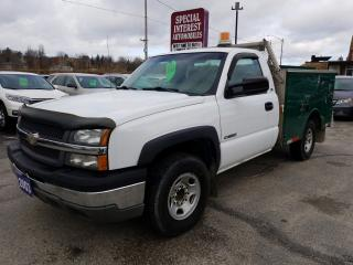 Used 2003 Chevrolet Silverado 2500 Chassis for sale in Cambridge, ON