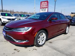Used 2016 Chrysler 200 Limited BLUE TOOTH !!  CRUISE !!  A/C !! for sale in Cambridge, ON
