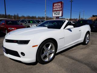 Used 2015 Chevrolet Camaro LT HEADS UP DISPLAY !!  LEATHER !!  LOW KMS !! for sale in Cambridge, ON