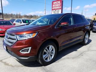 Used 2016 Ford Edge SEL NAVIGATION !!  SUNROOF !!  LEATHER !! for sale in Cambridge, ON