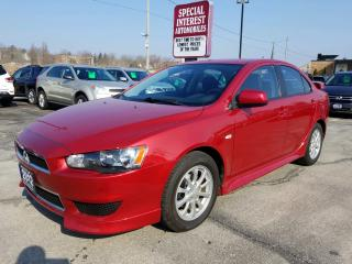 Used 2012 Mitsubishi Lancer SE AWC AWD !!  BLUE TOOTH !!  HEATED SEATS !! for sale in Cambridge, ON