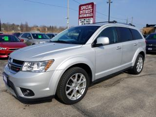 Used 2014 Dodge Journey SXT 7 PASSENGER !!  SUNROOF !!  BLUE TOOTH !! for sale in Cambridge, ON