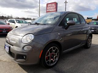 Used 2013 Fiat 500 Sport for sale in Cambridge, ON
