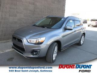 Used 2015 Mitsubishi RVR traction intégrale 4 portes CVT GT for sale in Gatineau, QC