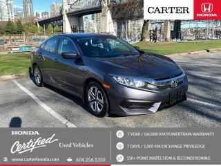 Used 2016 Honda Civic LX for sale in Vancouver, BC