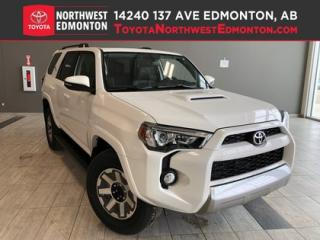 New 2019 Toyota 4Runner SR5 TRD Off Road for sale in Edmonton, AB