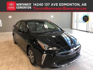 New 2019 Toyota Prius TECHNOLOGY ADVANCED AWD-e for sale in Edmonton, AB