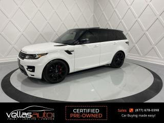 Used 2016 Land Rover Range Rover Sport V8 Supercharged V8 SUPERCHARGED| DYNAMIC| PANO RF| HEAD-UP DISPLAY for sale in Vaughan, ON