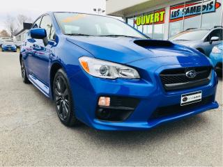Used 2016 Subaru WRX for sale in Lévis, QC