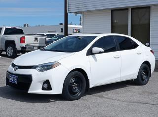 Used 2015 Toyota Corolla S Winter Tires on rims included for sale in Peterborough, ON