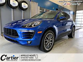 Used 2017 Porsche Macan Traction Intégrale for sale in Québec, QC