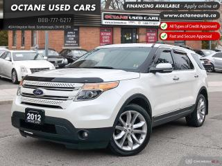 Used 2012 Ford Explorer Limited Accident Free! Navi! B.Up Cam! for sale in Scarborough, ON