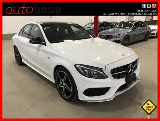 Used 2016 Mercedes-Benz C-Class C450 AMG 4MATIC PREMIUM ACTIVE LED CLEAN CARFAX for sale in Vaughan, ON