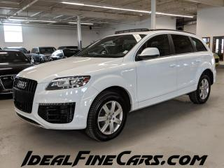 Used 2015 Audi Q7 NAVI/DVD/HEATED&COOLED SEATS/REAR SUNSHADES/LANE KEEP ASSIST! for sale in Toronto, ON