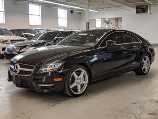 Used 2014 Mercedes-Benz CLS-Class AMG/BLIND SPOT ASSIST/HEATED SEATS/COOLED SEATS/PUSH BUTTON START! for sale in Toronto, ON