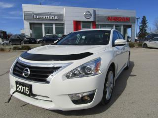Used 2015 Nissan Altima 3.5 SL for sale in Timmins, ON