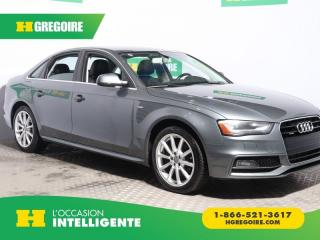Used 2016 Audi A4 Progressiv plus for sale in St-Léonard, QC