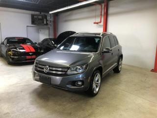Used 2014 Volkswagen Tiguan R LINE, 4MOTION, GPS, TOIT PANO., INT., for sale in Montréal, QC