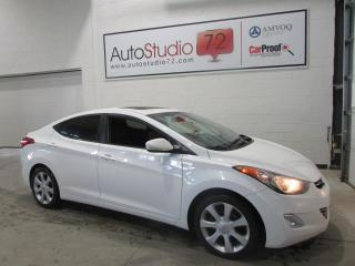 Used 2011 Hyundai Elantra Limited **NAVI**CUIR**TOIT**PUSH START** for sale in Mirabel, QC
