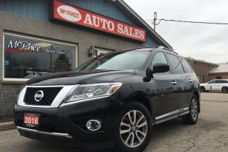 Used 2016 Nissan Pathfinder SL for sale in London, ON