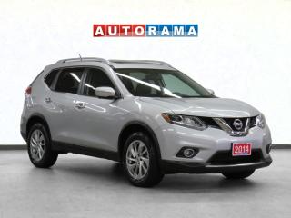 Used 2014 Nissan Rogue SL Navigation Leather Sunroof Backup Cam for sale in Toronto, ON