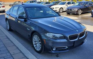Used 2015 BMW 528 Xdrive Xdrive for sale in Dorval, QC