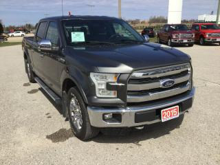 Used 2015 Ford F-150 Lariat | 4X4 | One Owner | Navigation for sale in Harriston, ON