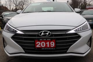 Used 2019 Hyundai Elantra Luxury ACCIDENT FREE for sale in Brampton, ON