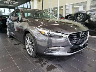 Used 2018 Mazda MAZDA3 GT, HEATED SEATS, NAVI, SUNROOF, ACCIDENT FREE for sale in Edmonton, AB