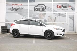 Used 2016 Ford Focus SE BLACK PACK ***JAMAIS ACCIDENTE*** for sale in Québec, QC