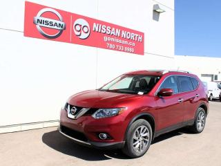 Used 2014 Nissan Rogue SL 4WD NAVIGATION SUNROOF for sale in Edmonton, AB