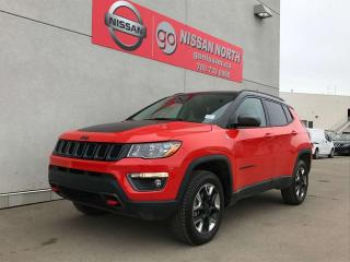 Used 2018 Jeep Compass TRAILHAWK 4WD NAVIGATION & MORE for sale in Edmonton, AB
