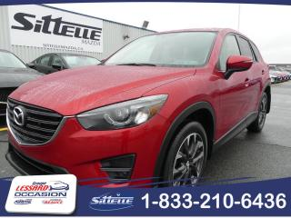 Used 2016 Mazda CX-5 GT, TRACTION INTEGRALE, JAMAIS ACCIDENTE for sale in St-Georges, QC