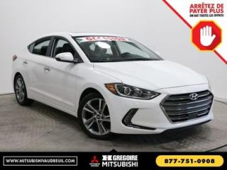 Used 2017 Hyundai Elantra LTD SE for sale in Vaudreuil-Dorion, QC