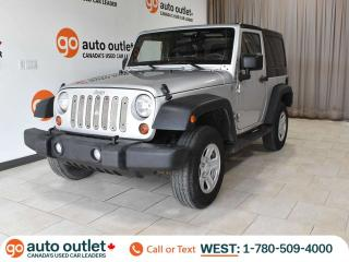 Used 2011 Jeep Wrangler One Owner! Sport 4WD, Manual for sale in Edmonton, AB