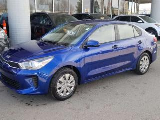 New 2019 Kia Rio LX MT; BACKUP CAM, KEYLESS ENTRY, HEATED SEATS/STEERING WHEEL AND MORE! for sale in Edmonton, AB