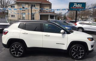 Used 2018 Jeep Compass Limited 4X4 for sale in Dunnville, ON