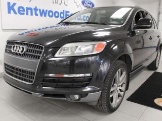 Used 2007 Audi Q7 Q7 AWD, heated power leather seats, heated leather rear seats, power liftgate for sale in Edmonton, AB