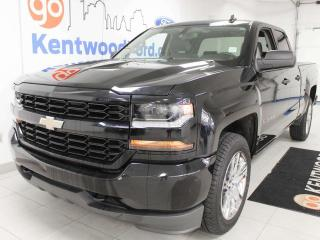 Used 2018 Chevrolet Silverado 1500 4x4 double cab with back up cam for sale in Edmonton, AB