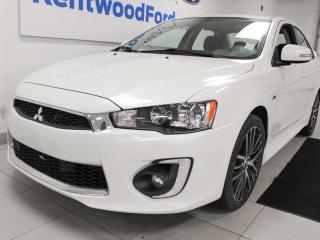 Used 2017 Mitsubishi Lancer GTS 5-SPD FWD manual with a sunroof and back up cam for sale in Edmonton, AB