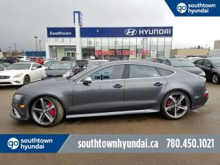 Used 2015 Audi RS 7 4.0T 560HP PRESTIGE AWD/LEATHER/BACK UP CAMERA/NAV for sale in Edmonton, AB
