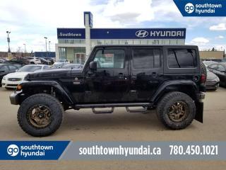 Used 2017 Jeep Wrangler Unlimited UNLTD SAHARA 4WD/LEATHER/NAV/BLUETOOTH for sale in Edmonton, AB