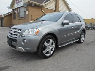 Used 2010 Mercedes-Benz ML550 AMG 4Matic Navigation Keyless Go Certified 170KMs for sale in Rexdale, ON