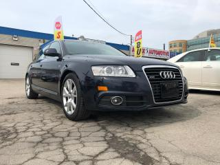Used 2011 Audi A6 Accident Free/Navi/Rear Cam/Bluetooth/Low KMs for sale in Oakville, ON