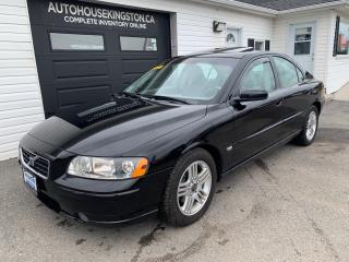 Used 2005 Volvo S60 2.5L Sport for sale in Kingston, ON