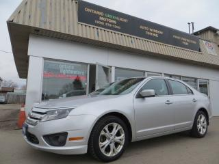 Used 2012 Ford Fusion BLUETOOTH,ALLOYS,FOG LIGHTS,ALL POWERED for sale in Mississauga, ON