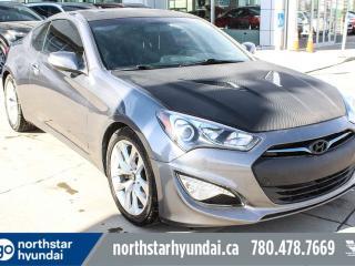 Used 2014 Hyundai Genesis Coupe 2.0T MANUAL/PREM/LEATHER/SUNROOF/BACKUPCAM for sale in Edmonton, AB